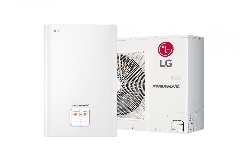 Теплові насоси спліт-системи LG Therma V