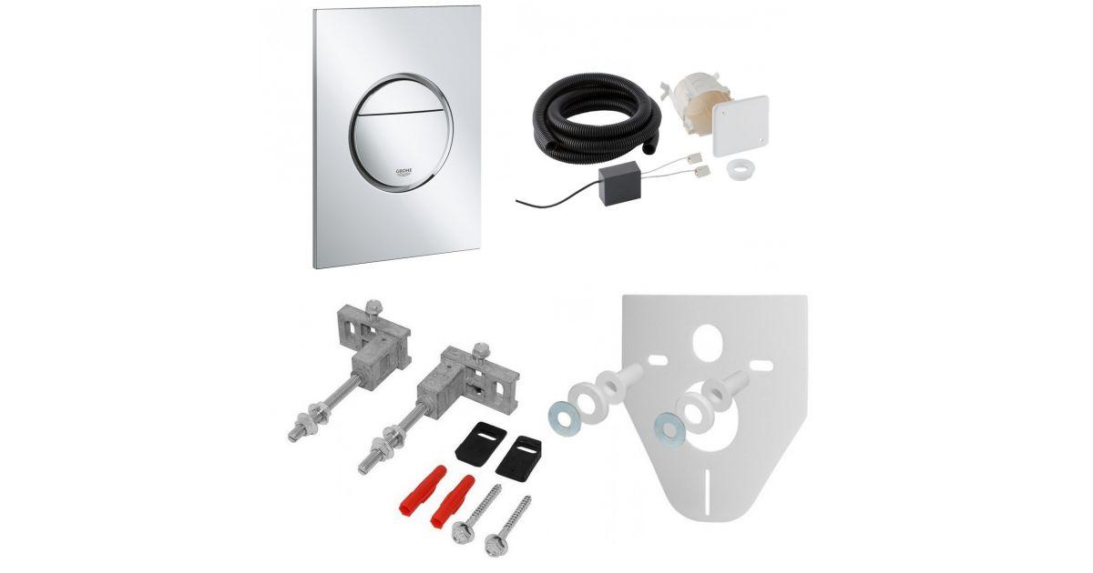 Аксесуари та комплектуючі для інсталяційної системи