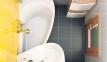 Акрилова асиметрична ванна Avocado Ravak 160 x 75 R CH01000000 2