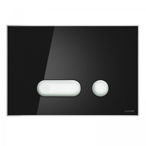 Кнопка змиву Intera, чорний