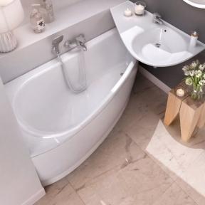 Акрилова асиметрична ванна Avocado Ravak 160 x 75 R CH01000000
