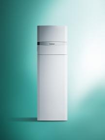 Котел Vaillant газовий конденсаційний підлоговий з вбудованим водонагрівачем 150 л ecoCOMPACT VSC 266/4-5 150 27кВт