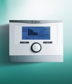 Бездротовий погодозалежний регулятор для котлів з шиноюebus multiMATIC VRC700/4f