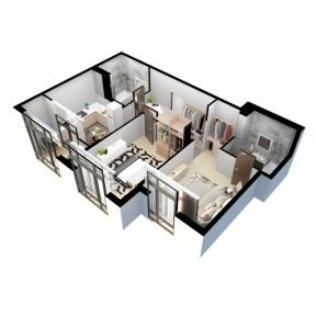 Проект електропостачання 2-кімнатної квартири