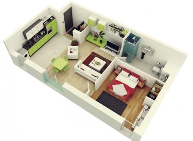 Проект електропостачання 1-кімнатної квартири