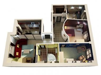 Проект опалення 4-кімнатної квартири