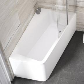 Акрилова асиметрична ванна 10° Ravak 160x95 L біла C831000000