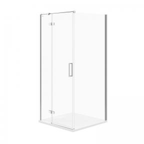 Кутова душова кабіна Jota 90x90x195 лівостороння прозоре скло