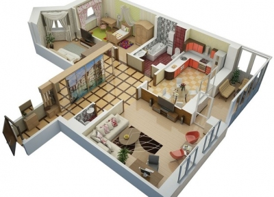 Проект електропостачання 3-кімнатної квартири