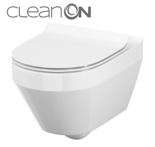 Crea підвісний унітаз CleanOn овальний Cersanit