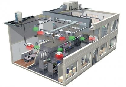 Проект електропостачання торгово-розважальних приміщень