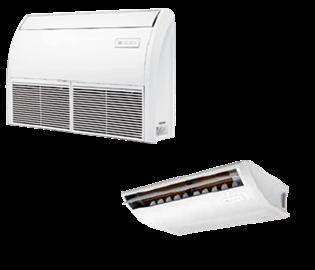 Кондиціонер напівпромисловий Підлогово-стельовий тип inverter R410A TCA-60ZHRA/DV3I  TCA-60HA/DV3O