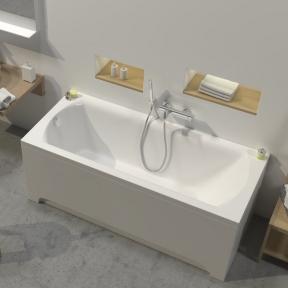 Акрилова прямокутна ванна Domino II Ravak 180 x 80 XAU0000034